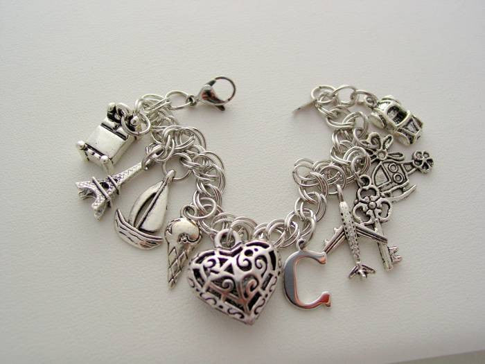 50 Fifty Shades of Grey Firsts Christian Grey Anna Birthday Charm Bracelet