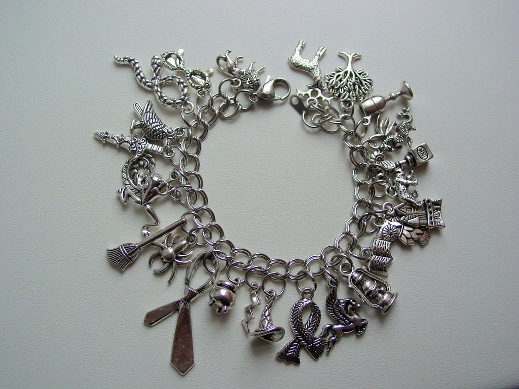 Harry Potter Charm Bracelet 25 Charms