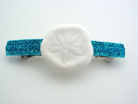 Mako Mermaids H2O Just Add Water Aqua Glitter Sea Biscuit Mermaid Barrette Hair Clip