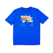 SPACE FLAKES®️ - T-SHIRT ROYAL BLUE