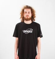 ORBIT REFLECTIVE - T-SHIRT NOIR