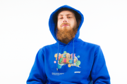 SPACE FLAKES®️ - HOODIE ROYAL BLUE