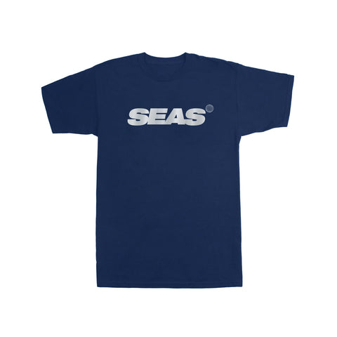 T-SHIRT SEAS NAVY — REFLECTIVE