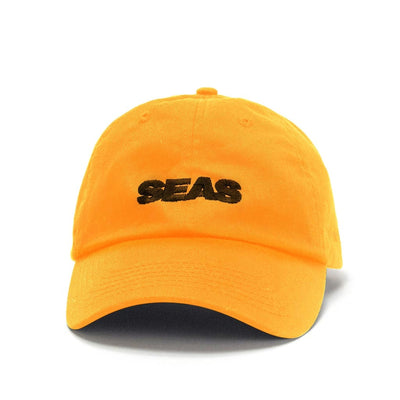 CAP SEAS ORANGE — BLACK EMBROIDERY