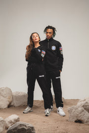 EXPLORER TRACKSUIT - TOP NOIR