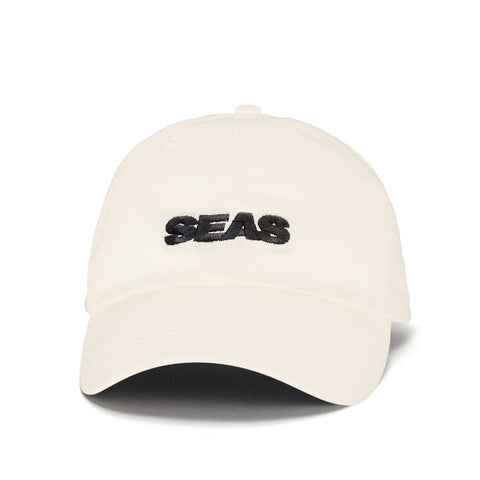 CAP SEAS WHITE — BLACK EMBROIDERY