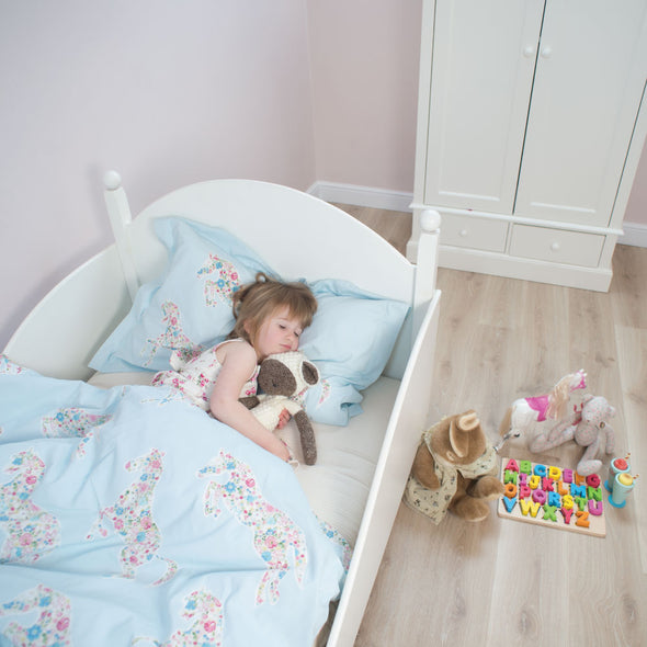Vegan Children's Mattress in Room