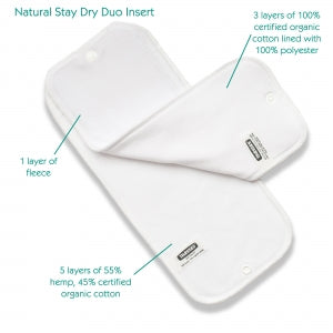 Stay Dry Natural Duo Insert