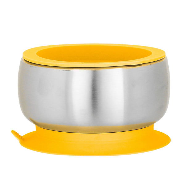 Stainless Steel Baby Suction Bowl with Lid