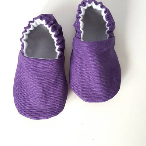 Weepereas Baby Mocs - Classic Plum