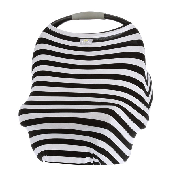 Mom Boss 4-in-1 Multi Use Car Seat Cover, Nursing Cover, Shopping Cover, Scarf