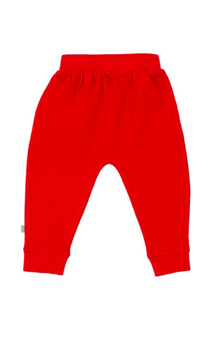 Organic Lounge Pants - Red Rover (Dogs Collection)