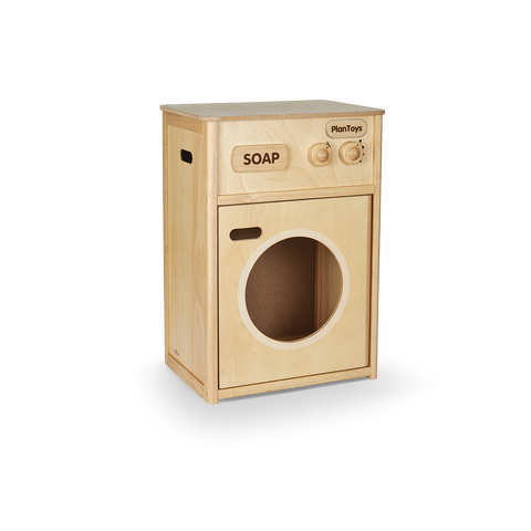 Wooden Pretend Play Washing Machine