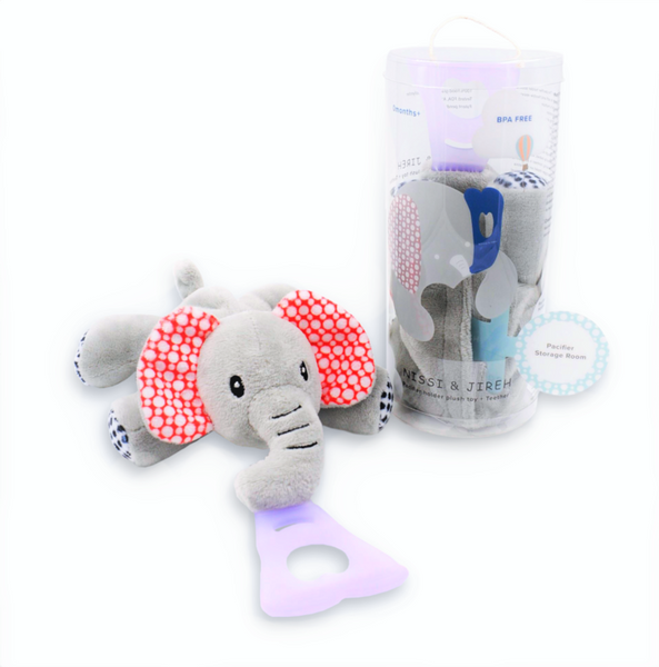 4 in 1 Pacifier Holder Lovey