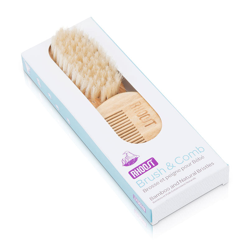All Natural Baby Brush & Comb Set