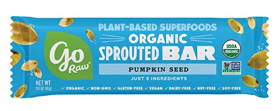 Go Raw Pumpkin Seed Sprouted Bar