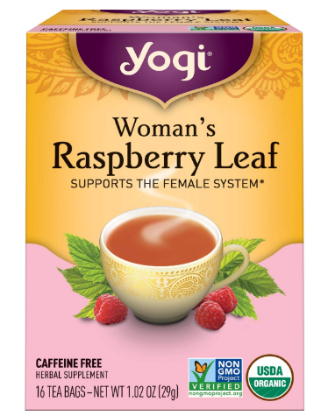 Yogi Raspberry Leaf Tea