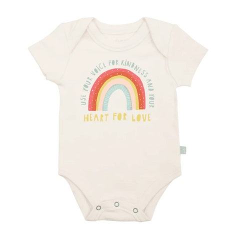 Kindness Organic Graphic Bodysuit