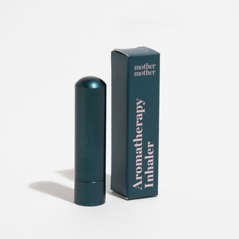 Blue aluminum Mother Mother aromatherapy tube with box