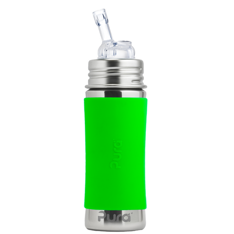 Pura Stainless Steel Straw Bottle