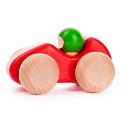 Small Wooden Racing Car