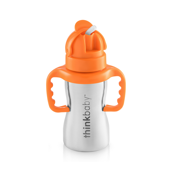 ThinkBaby Thinkster of Steel Stainless Steel Straw Cup