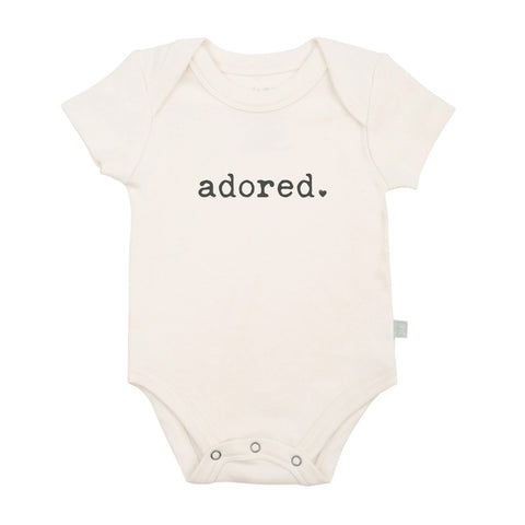 Adored Organic Graphic Bodysuit