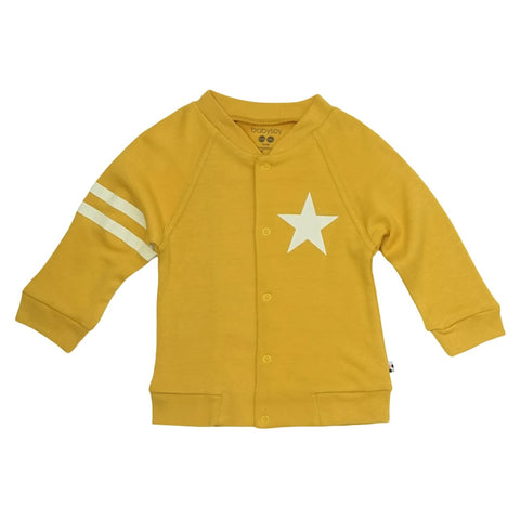 All-Star Bomber Jacket - Mustard