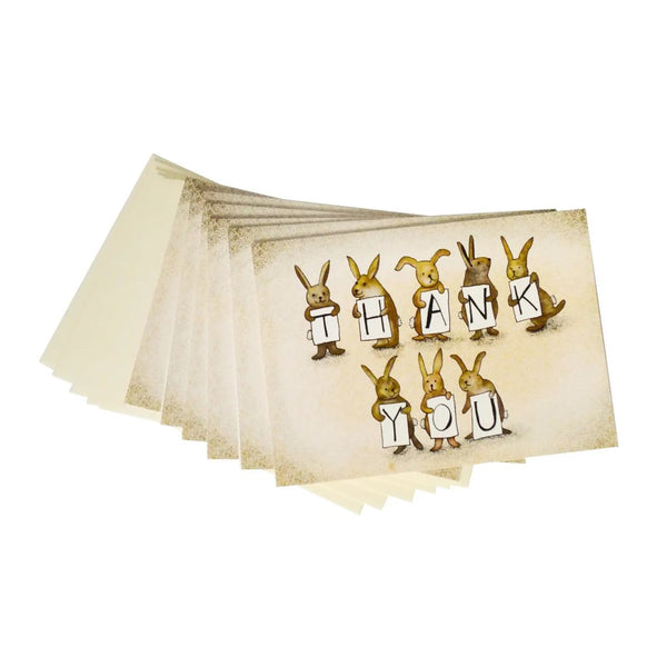 Bunny Bunch Thank You Card Set
