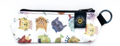 Wipe Clean Pencil Pouch - Cool Cats