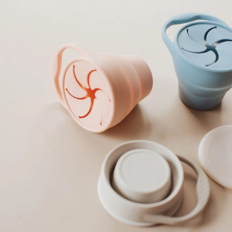 Silicone Collapsible Snack Cup