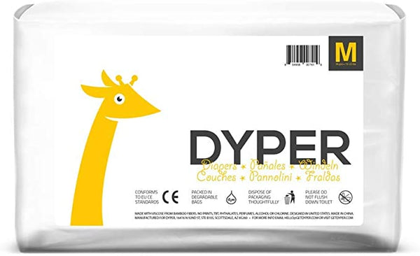 Dyper Compostable Diapers