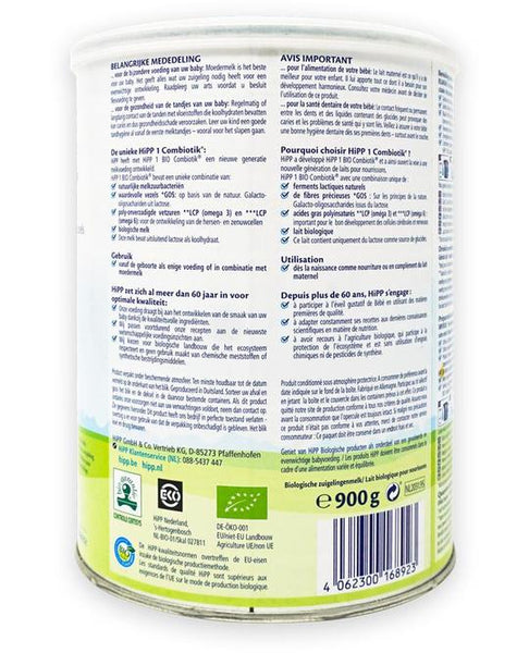 HiPP Combiotik Dutch Organic Infant Formula