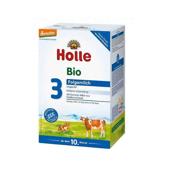 Holle Cow's Milk Organic Infant Formula