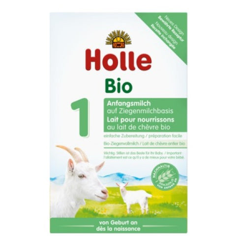 Holle Goat's Milk Organic Infant Formula