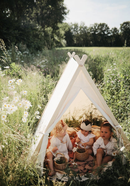 Organic Cotton Canvas Play Tent