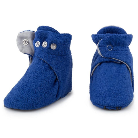 Fleece Baby Booties - Shark