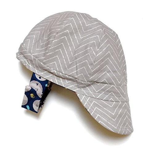 Organic Reversible EcoCap Sun Hat - Over the moon