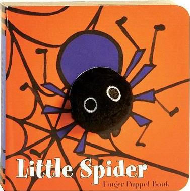Finger Puppet Book - Little Spider