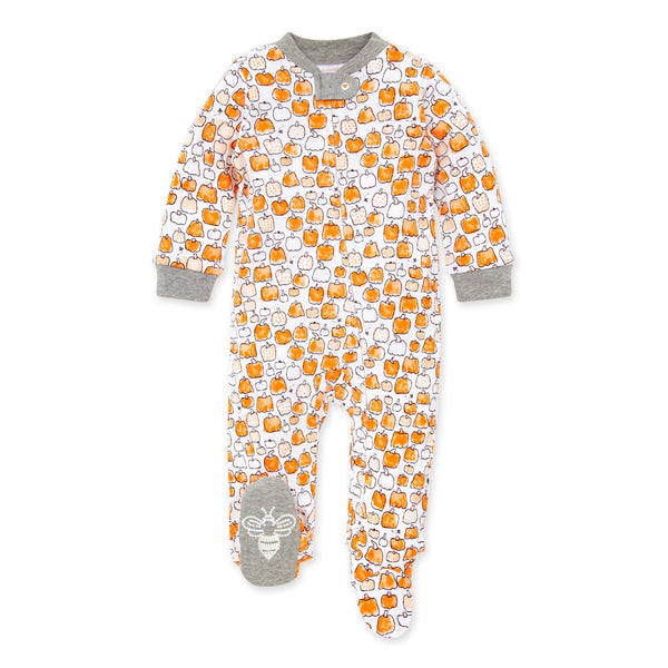 Pumpkin Patch Organic Baby Loose Fit Footed Fall Pajamas