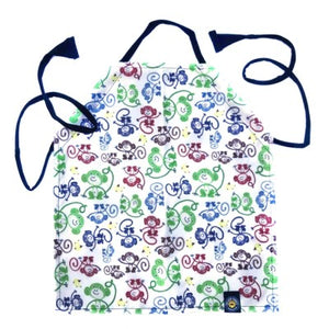 Kids Wipe Clean Apron - Monkey
