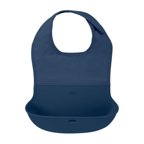 Silicone Roll-Up Bib