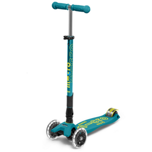 Maxi Deluxe LED Foldable Scooter
