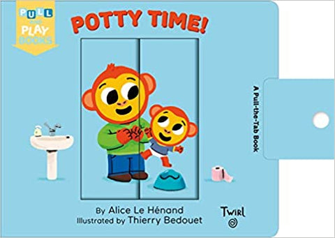 Pull and Play Book: Potty Time