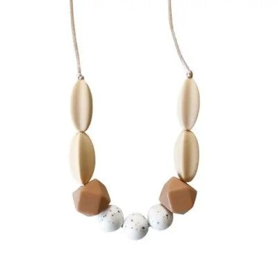 The Sienna Moonstone Silicone Teething Necklace