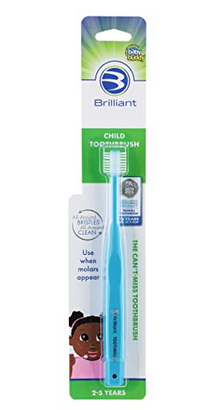Brilliant Child Toothbrush for 2-5 Years