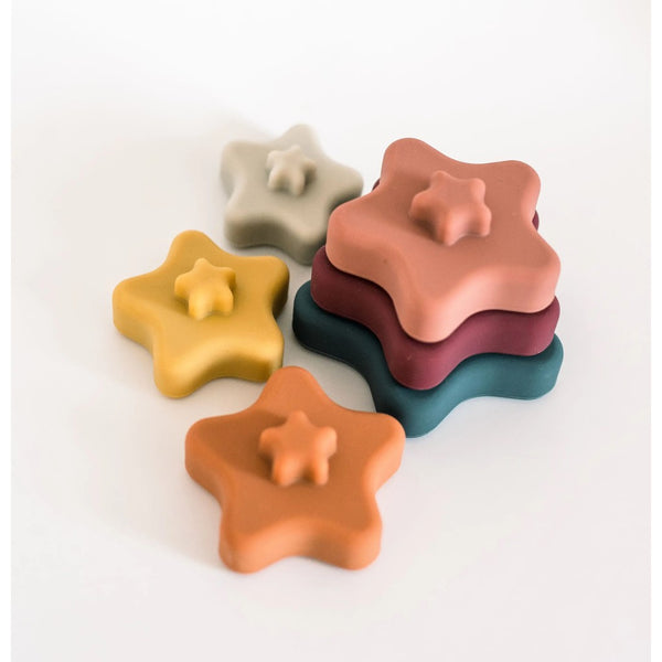 Stella Silicone Star Stacker Toy
