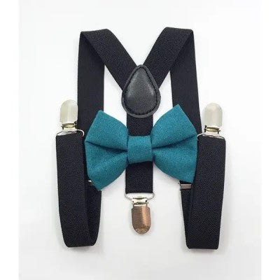 Daddy & Me Matching Bow Tie and Suspenders Set