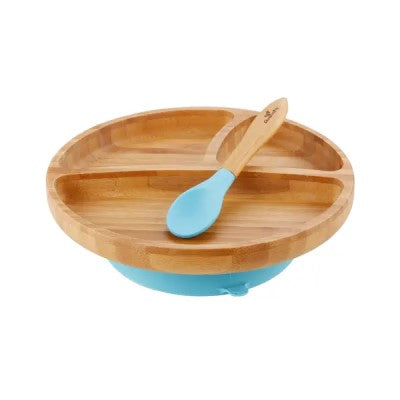 Bamboo Toddler Suction Plate & Spoon