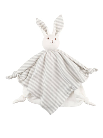 Organic Cotton Baby Bunny Blanket Lovey
